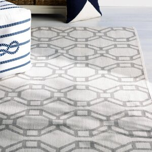 Fowler Cream/Gray Indoor/Outdoor Area Rug