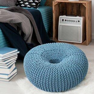Araiza Doughnut Pouf by Ebern Designs