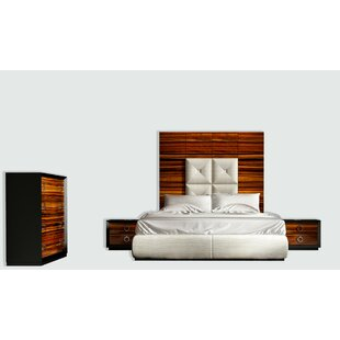 Huggins Panel 4 Piece Bedroom Set