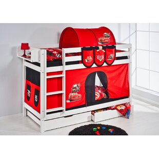 Belle Bunk Bed With Curtain By Zoomie Kids