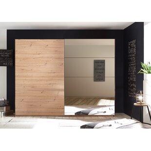 Sheila 2 Door Wardrobe By Ebern Designs