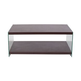 William Wood Grain Finish Center Coffee Table