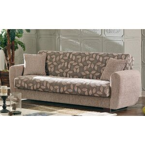 Beyan Signature Chesnut Sleeper Sofa Image