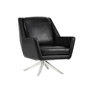 Greta Swivel Club Chair by Sunpan Modern