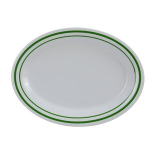 Selsey Oval Melamine Platter (Set of 12)