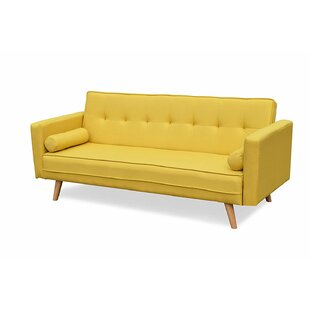 Mccarty 3 Seater Futon Sofa By Mercury Row