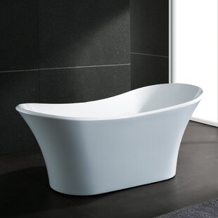 Top Reviews 71 x 32 Freestanding Soaking Bathtub By AKDY