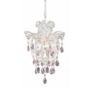Darrius 1-Light Crystal Pe..