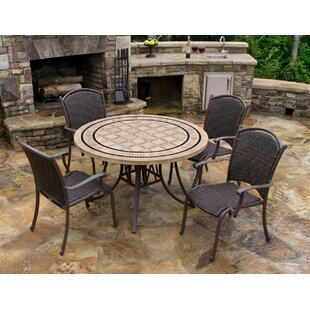 Colucci 5 Piece Dining Set