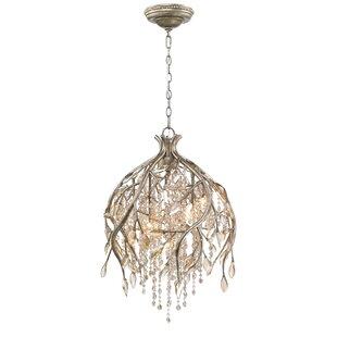 Astoria Grand Anneliese 5-Light Crystal Chandelier