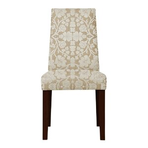 Haddonfield Floral Parsons Chair (Set of 2) (Set of 2) by Latitude Run