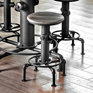Pollard Swivel Bar Stool (Set of 2) by 17 Stories