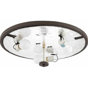 Volume Lighting Esprit 3-Light Ceiling Fixture Flush Mount
