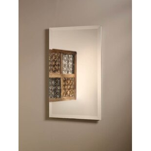 Reviews Perfect Square 16 x 26 Recessed Medicine Cabinet By Jensen