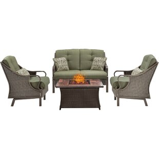 Sherwood 4 Piece Sofa Set with Cushions