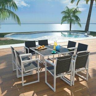 Banas 8 Seater Dining Set By Sol 72 Outdoor