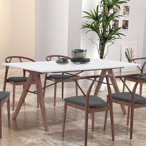 Melillo Dining Table by Brayden Studio