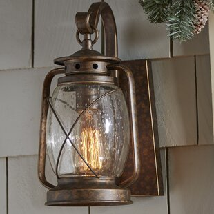 Shop For Bendel 1-Light Outdoor Wall lantern By Breakwater Bay