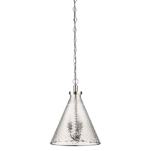 Brayden Studio Greenhaw 1-Light Cone Pend..