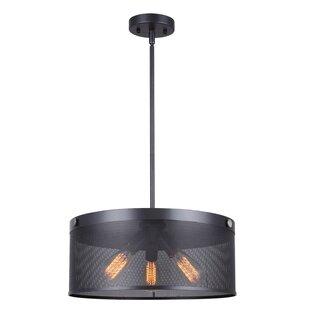 Williston Forge Babara 3-Light Chandelier