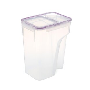 Single Jumbo Flip Top 184 Oz. Rectangular Food Storage Container