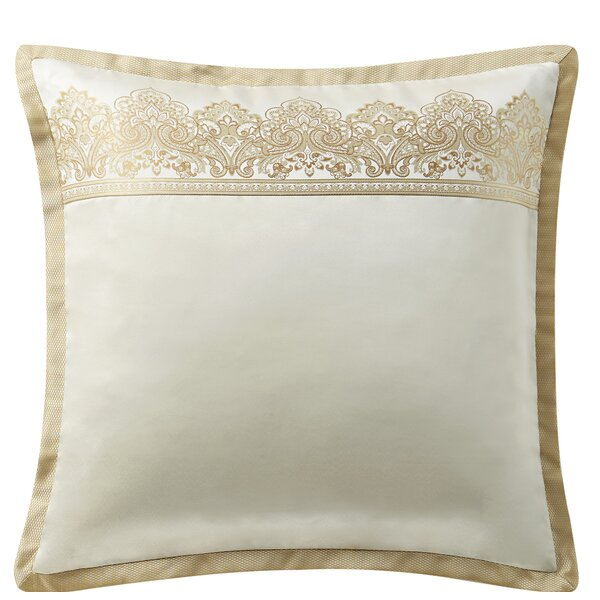 Oversize Euro Sham pillow covers decorative White Ivory Home Decor AllMade in US