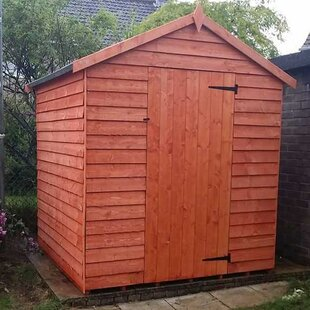 Low Price Tiger 6 Ft. W X 8 Ft. D Overlap Apex Wooden Shed