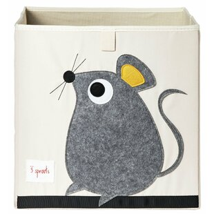 Mouse Fabric Storage Cube