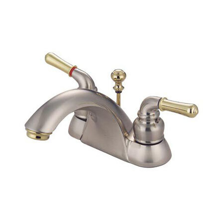 Elements of Design St. Charles Centerset Bathroom Faucet with Drain ...