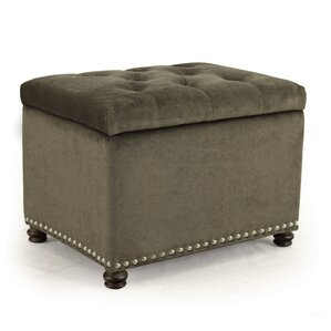 Willa Arlo Interiors Grove Hill Accents Rectangular Tufted Storage Ottoman