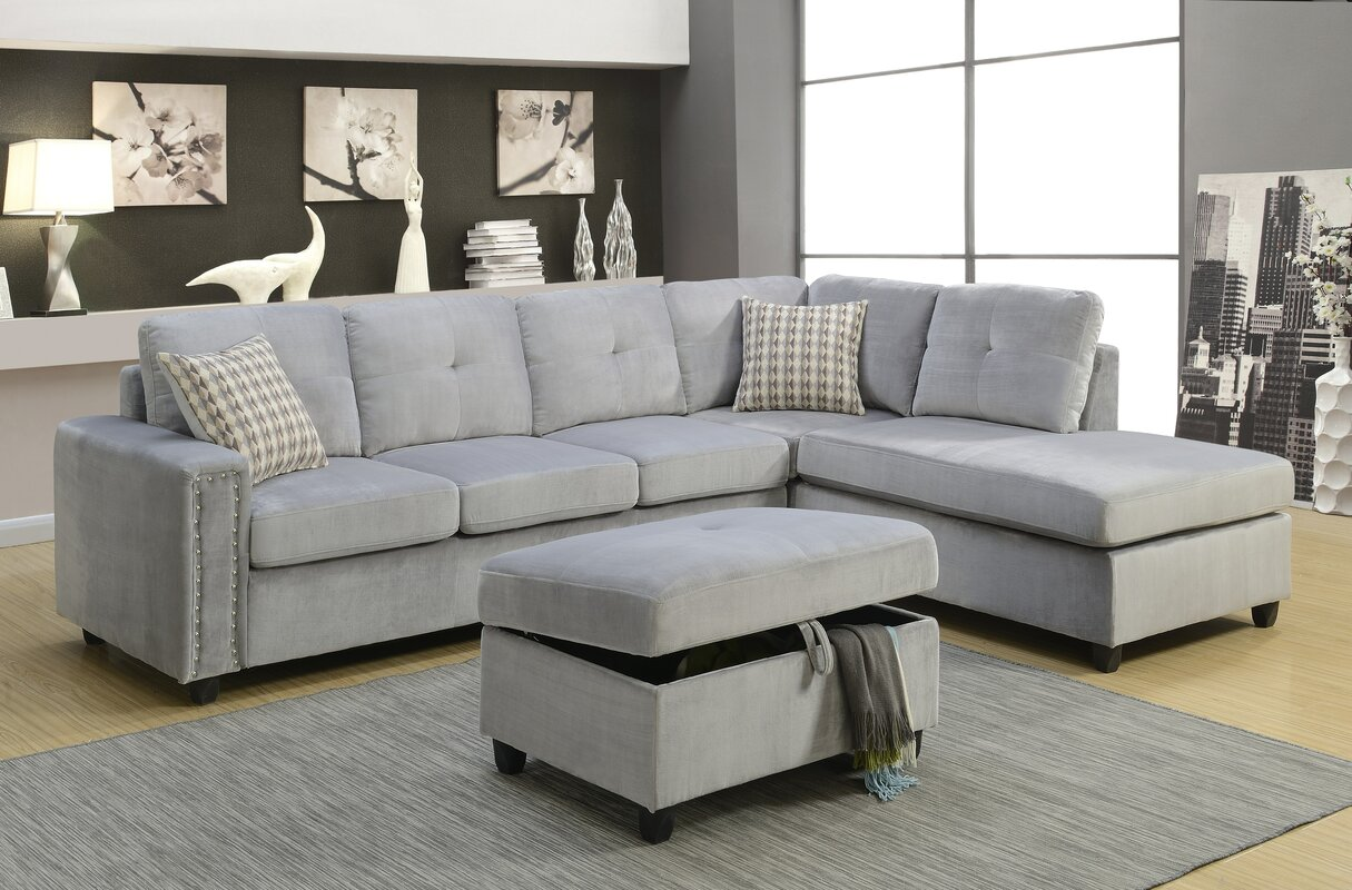 Belville Reversible Sectional