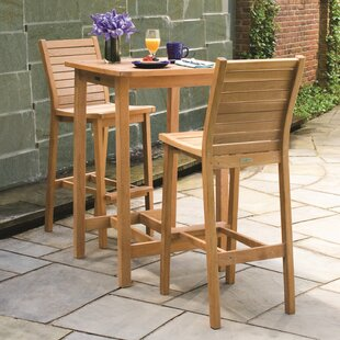 Shanelle Shorea 3 Piece Bar Height Dining Set
