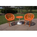 Waymire 3 Piece Bistro Set