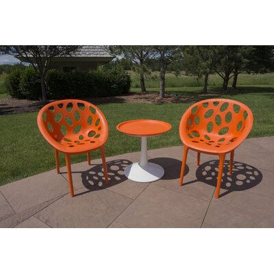 Waymire 3 Piece Bistro Set by Ivy Bronx Read Reviews