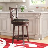 Brockway 24 Swivel Bar Stool by Andover Mills™