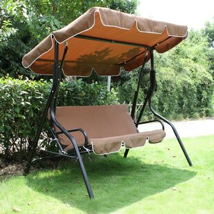 Welch Porch Swing with Stand by Ebern Designs