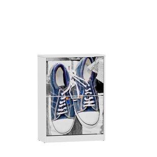 Deals Price Sneakers Hanging 13 Pair Flip Down Shoe Storage