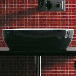 Musa Ceramic 47 Console Bathroom Sink ByMaestro Bath