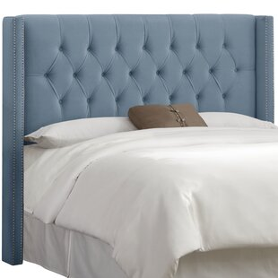 Rita Upholstered Wingback Headboard by Wayfair Custom Upholstery™