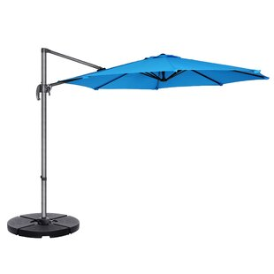 Cockermouth Rotating 10' Cantilever Umbrella By Freeport Park