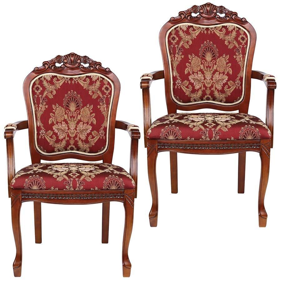 Design toscano crown armchair wayfair