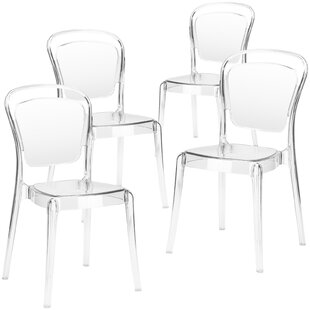 Mullet Side Dining Chair (Set of 4) House of Hampton