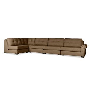 Darby Home Co Lebanon Buttoned Left L-Shape Modular Sectional