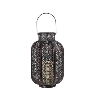 Cadiz Lantern With LED Candle by Smart Living Design