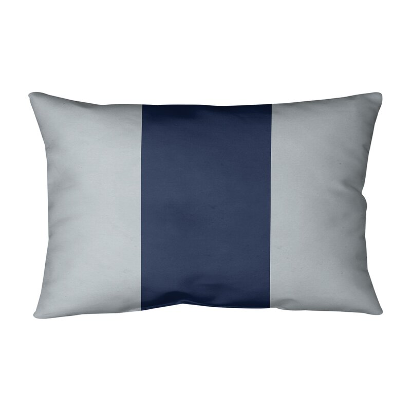 East Urban Home New York Bronx Baseball Indoor Outdoor Striped Lumbar Pillow Wayfair
