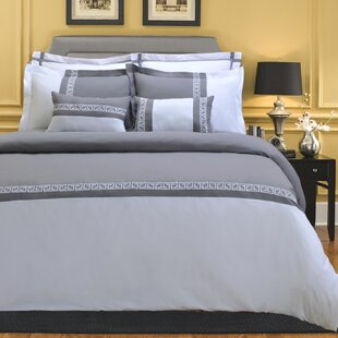 Bousquet 7-Piece Duvet Cover Set With Pillow Shams, 5 Colors