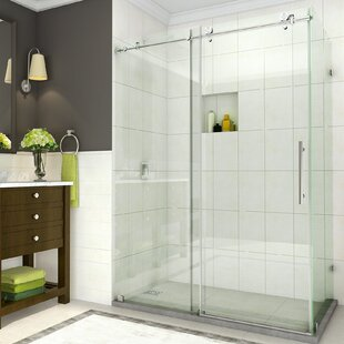 Aston Coraline Single Sliding Semi-Frameless Shower Door