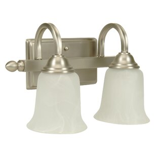 Price comparison Belvidere Modern 2-Light Vanity Light By Charlton Home
