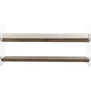 Zentique Fabric Storage Bench