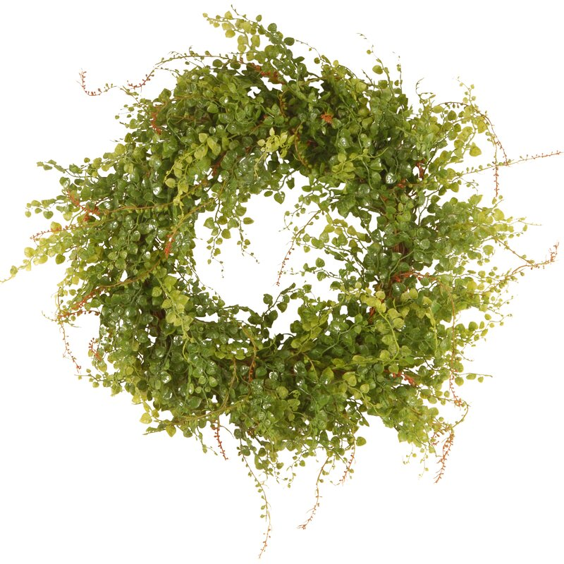 Light Green Hotag with Berry Wreath
